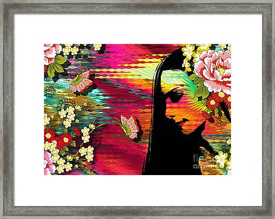 Totality Framed Print by Ramneek Narang