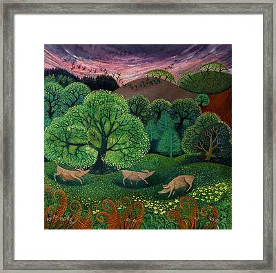 Totally Organic  Framed Print by Lisa Graa Jensen