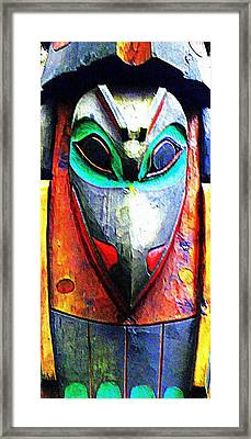 Totem 7 Framed Print by Randall Weidner