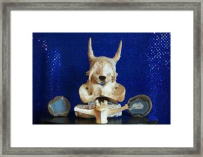Framed Print featuring the photograph Totem by Carolyn Cable