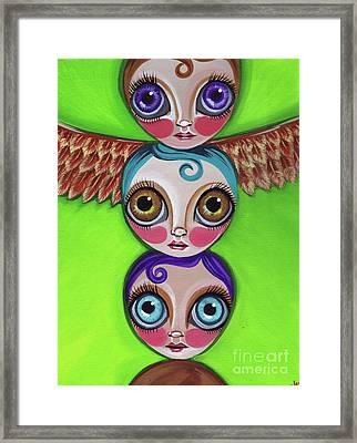 Totem Dolls Framed Print