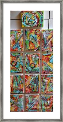 Totem Framed Print by Hilton  Woodside