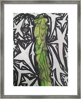 Totem Pole Cactus 2 Framed Print