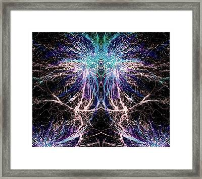 Totems Of The Vision Quests #1527 Framed Print