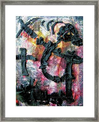 Totentanz - Dance Of Death No. 4 Framed Print