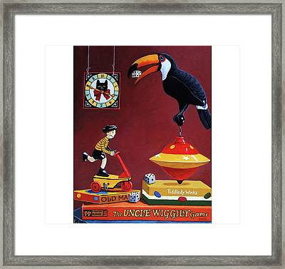 Toucan Play At This Game Framed Print