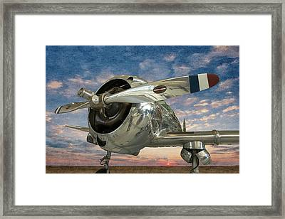 Framed Print featuring the photograph Touch And Go II by Jeffrey Jensen
