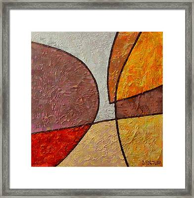 Framed Print featuring the mixed media Touch by Dragica  Micki Fortuna