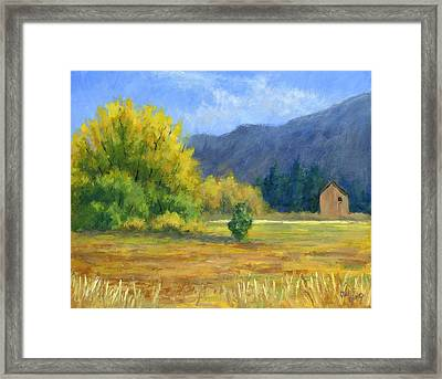 Touch Of Autumn Framed Print