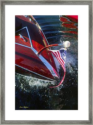 Touch Of Class - Lake Geneva Wisconsin Framed Print