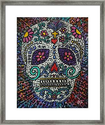 Touch Of Death Framed Print