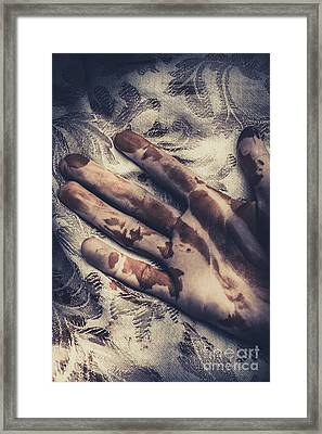 Touch Of Death Framed Print by Jorgo Photography - Wall Art Gallery