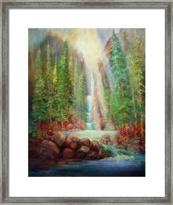 Touch Of Glory Framed Print