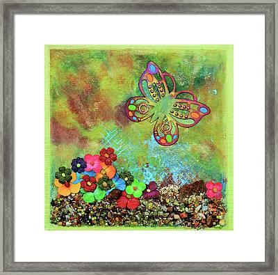 Touched By Enchantment Framed Print by Donna Blackhall