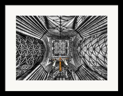 Minster Abbey Framed Prints