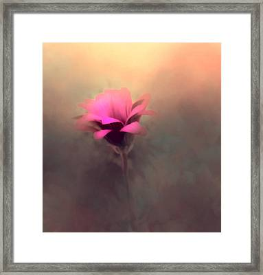 Touched By The Light Framed Print by KaFra Art
