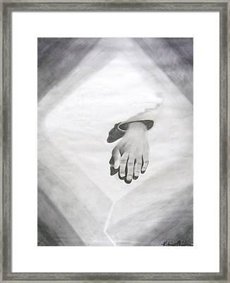 Touched Framed Print by Katrice Kinlaw
