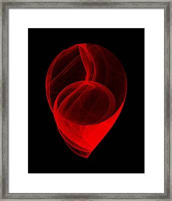 Touched Stone II Framed Print