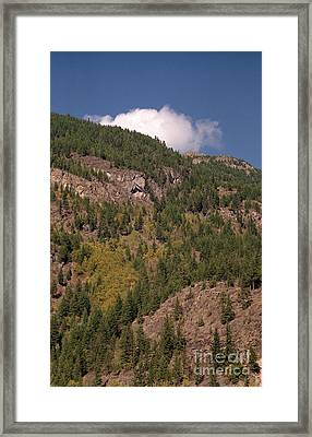 Touching The Clouds Framed Print by Richard Rizzo