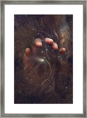 Touching The Stars Framed Print