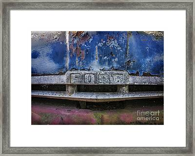 Tough As Ford Framed Print