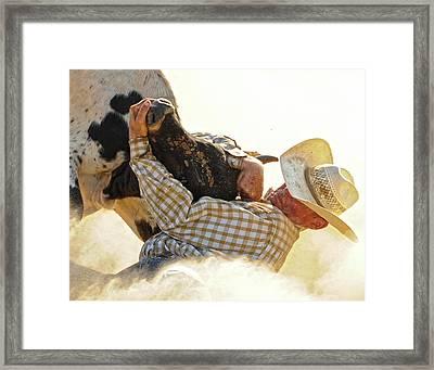 Tough Enough Framed Print by Ron  McGinnis