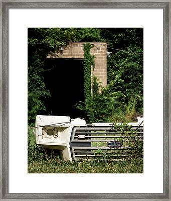 Tough Gate Framed Print