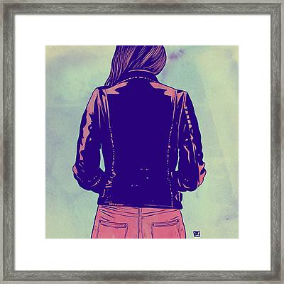 Tough Framed Print by Giuseppe Cristiano