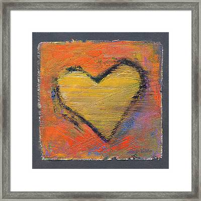 Love 8 Framed Print