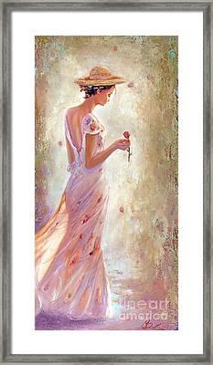 Toujours De Fleurs Framed Print