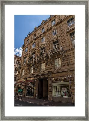 Toulouse Architecture Framed Print