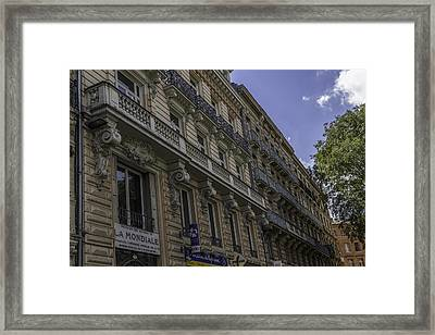 Toulouse Balconies Framed Print