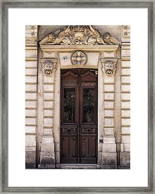 Toulouse Door Framed Print