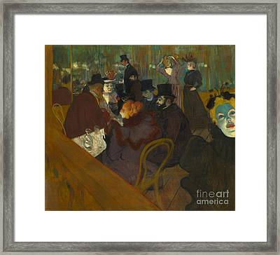 Toulouse-lautrec Moulin Rouge Framed Print by Granger