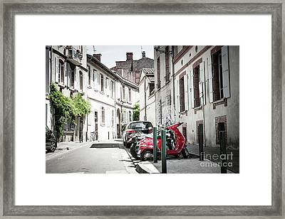 Framed Print featuring the photograph Toulouse Street by Elena Elisseeva