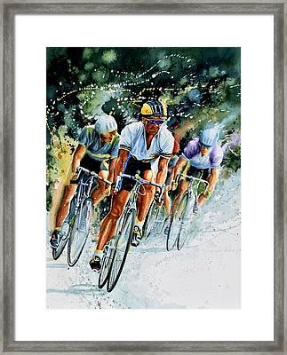 Tour De Force Framed Print
