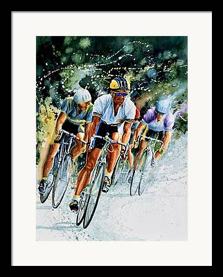 Sports ist Paintings Framed Prints