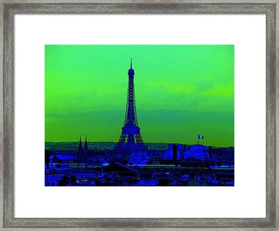 Tour Eiffel Framed Print by Aline Kala