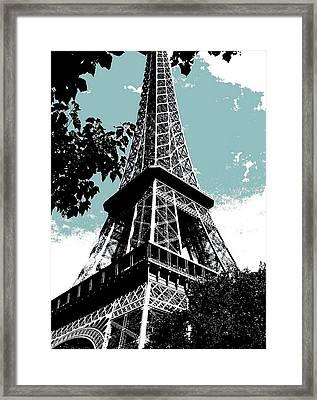 Tour Eiffel Framed Print by Juergen Weiss