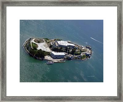 Tour Of Alcatraz Framed Print by Donna Blackhall