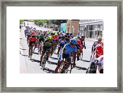 Tour Of The Gila 4 Framed Print