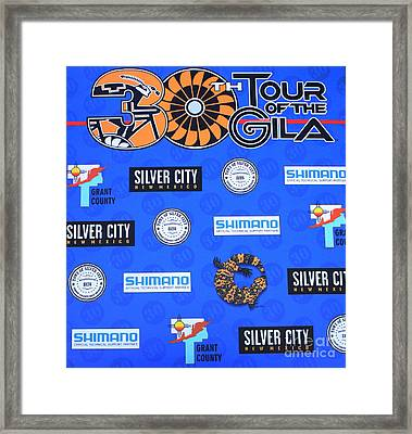 Tour Of The Gila Monster Framed Print