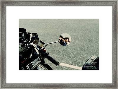 Touring With Your Honey Framed Print