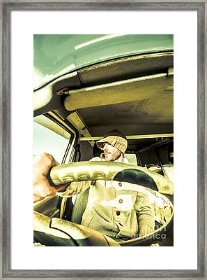 Tourist Sightseeing In Van Framed Print by Jorgo Photography - Wall Art Gallery