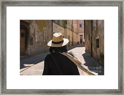 Tourist Framed Print