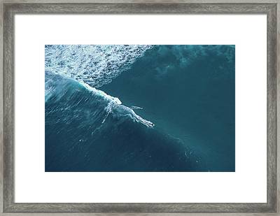Tow Surf - Sunset Beach Framed Print