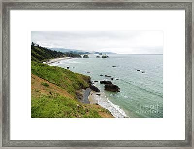 Toward Cannon Beach Framed Print