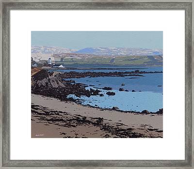 Toward Castle Framed Print by Malcolm Warrilow