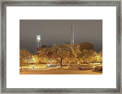 Toward The Atc Framed Print