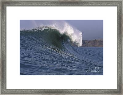 Toward The Cliffs Framed Print